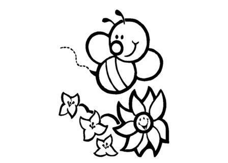 Bees-Coloring